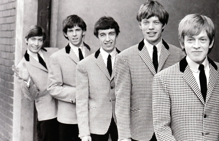 The Rolling Stones by Philip Townsend / 1963