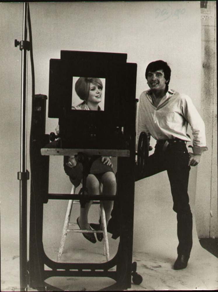 Catherine Deneuve and David Bailey / 1965