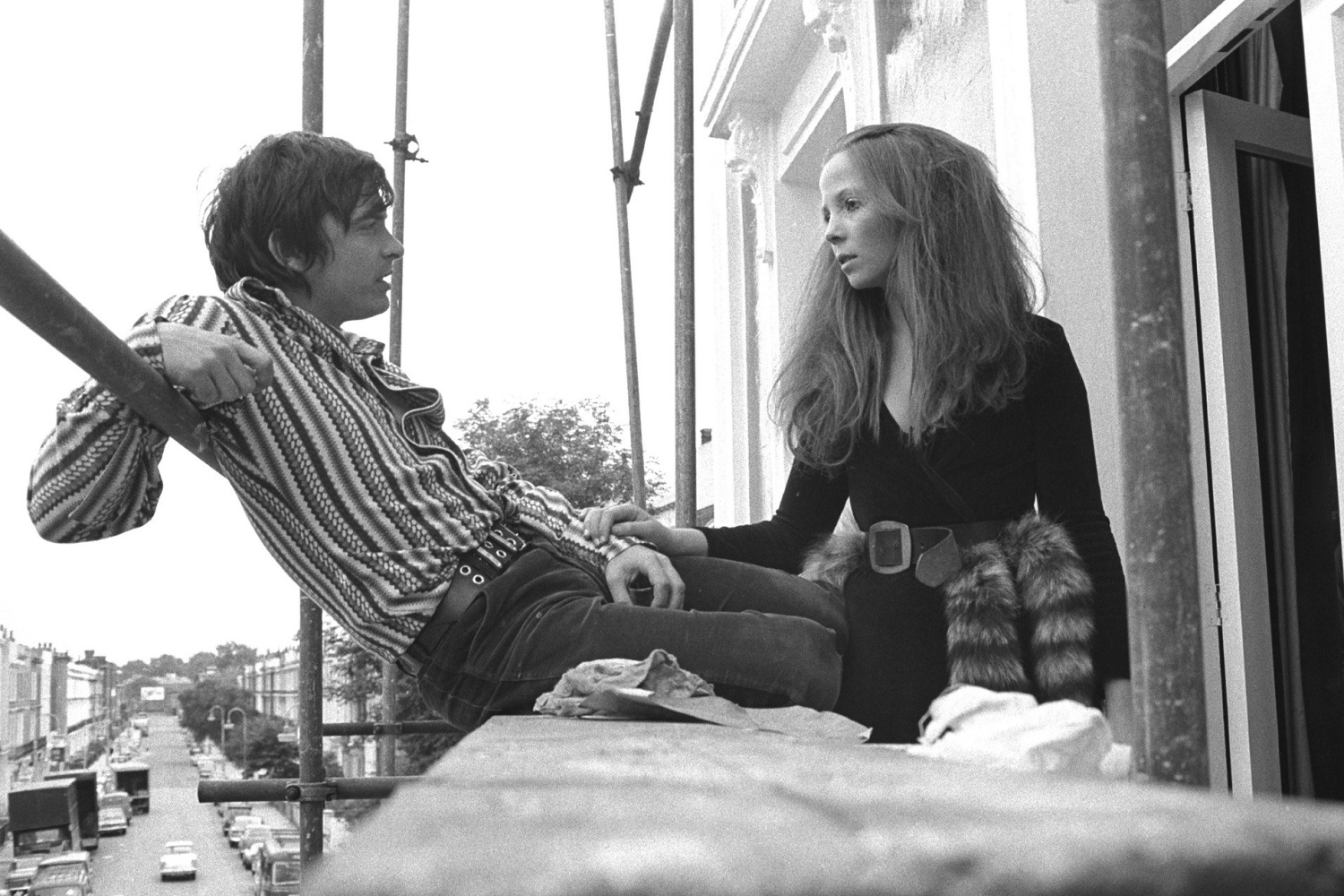 David Bailey and Penelope Tree, London / 1965