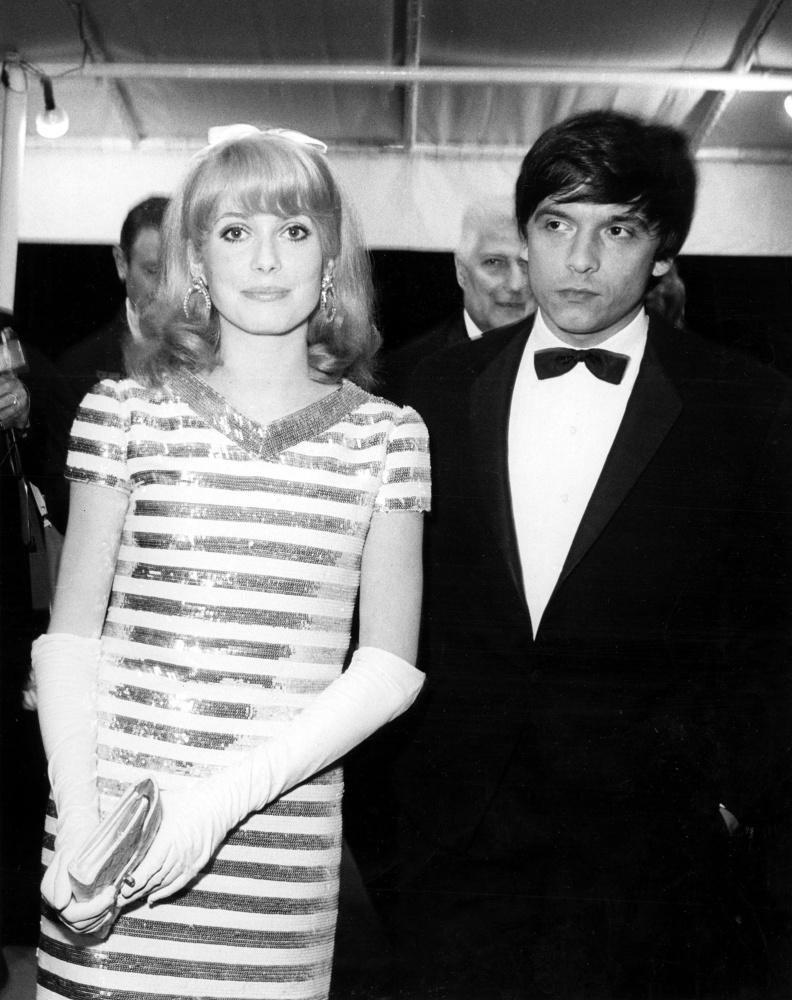 Catherine Deneuve and David Bailey, Cannes / 1966