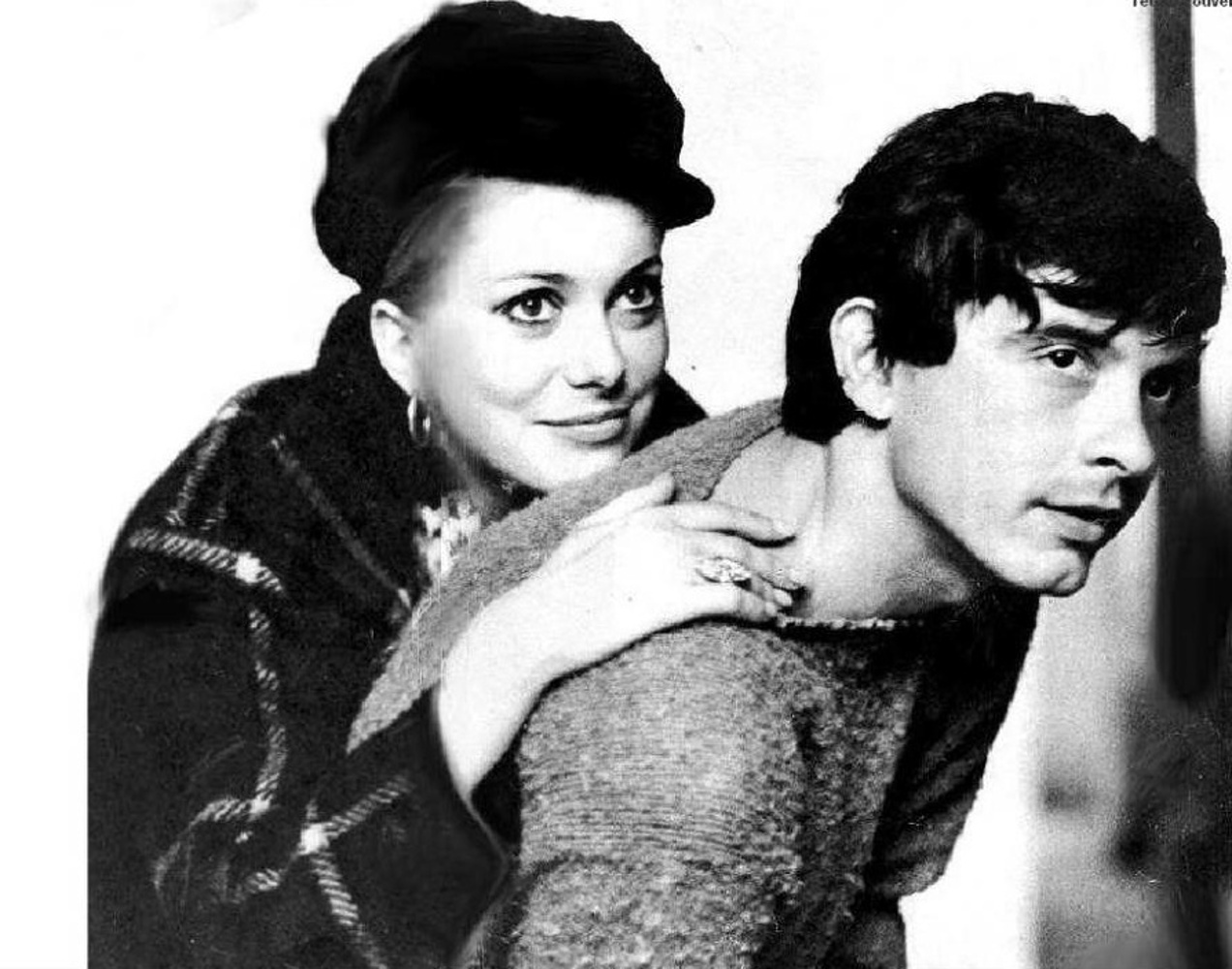 Catherine Deneuve and David Bailey / 1967