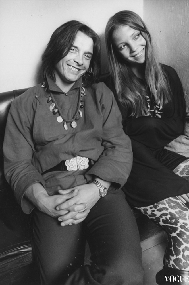 David Bailey and Penelope Tree / 1970