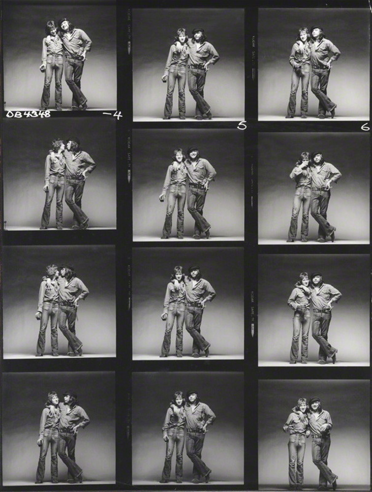 John Swannell and David Bailey by John Swannell / 1971
