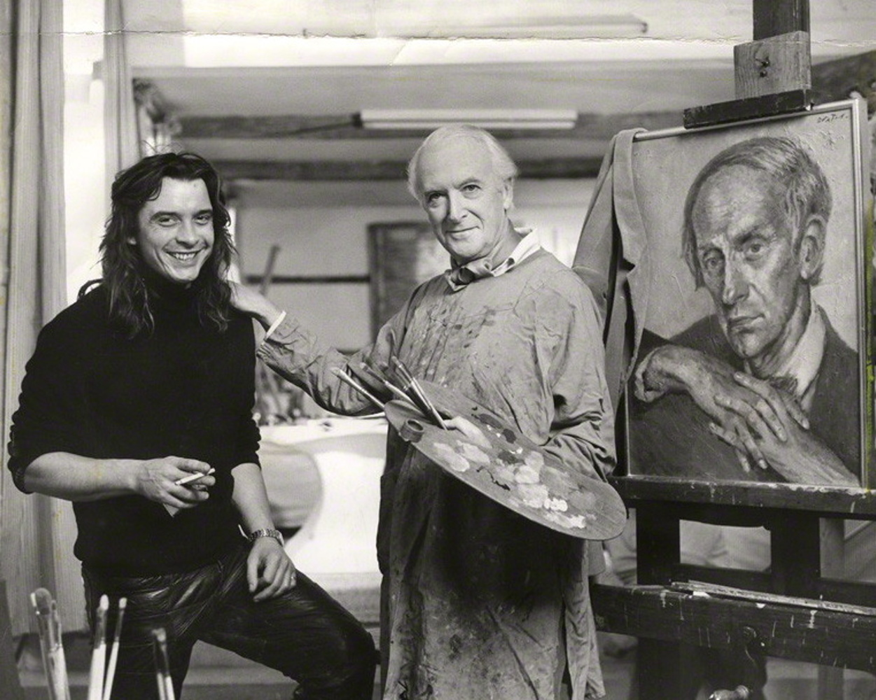 David Bailey and Cecil Beaton / 1971