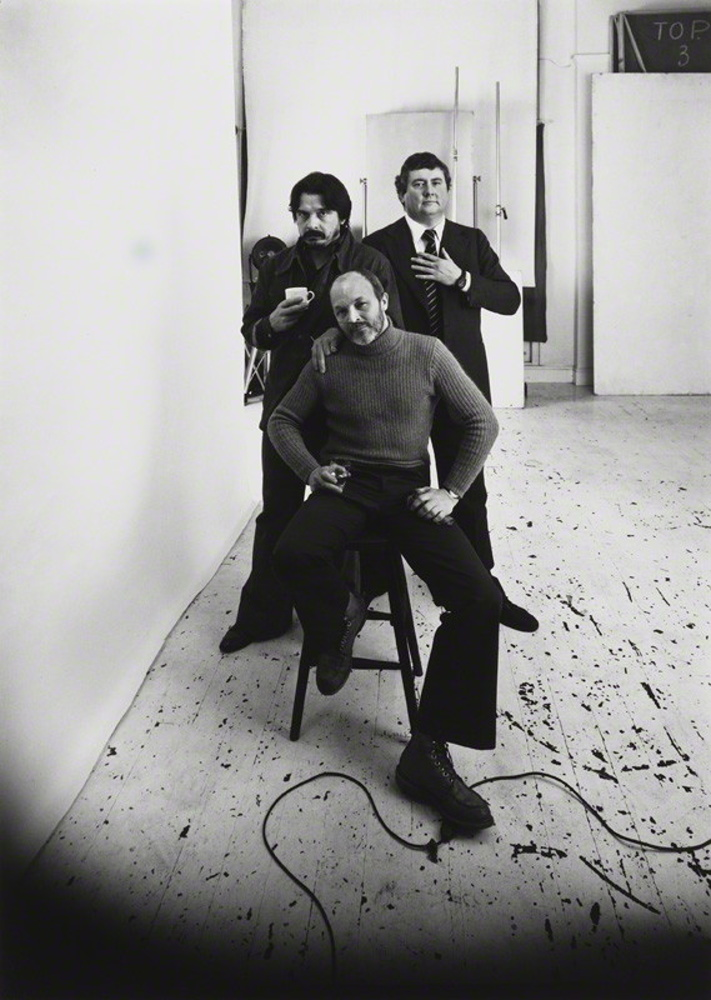 David Bailey, Brian Duffy and Terence Donovan by Arnold Newman / 1978
