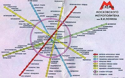 Схемы московского метро