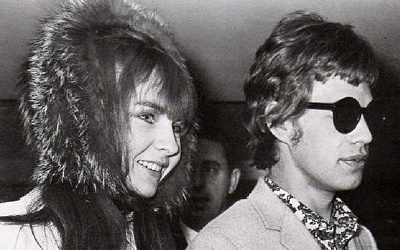 Mick and Chrissie
