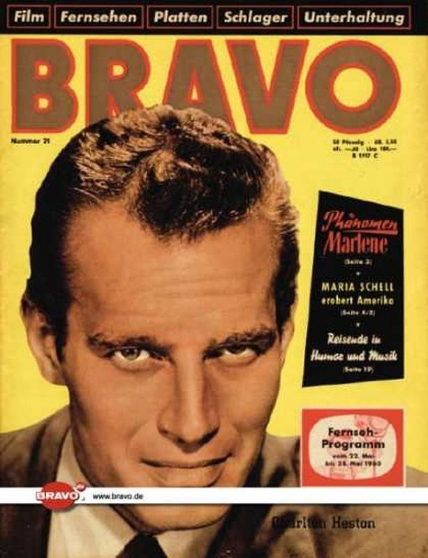 21 / 17.05.1960 / Charlton Heston
