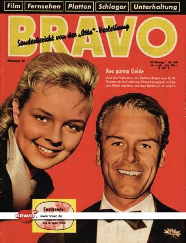 22 / 24.05.1960 / Sabine Sinjen & O.W. Fischer