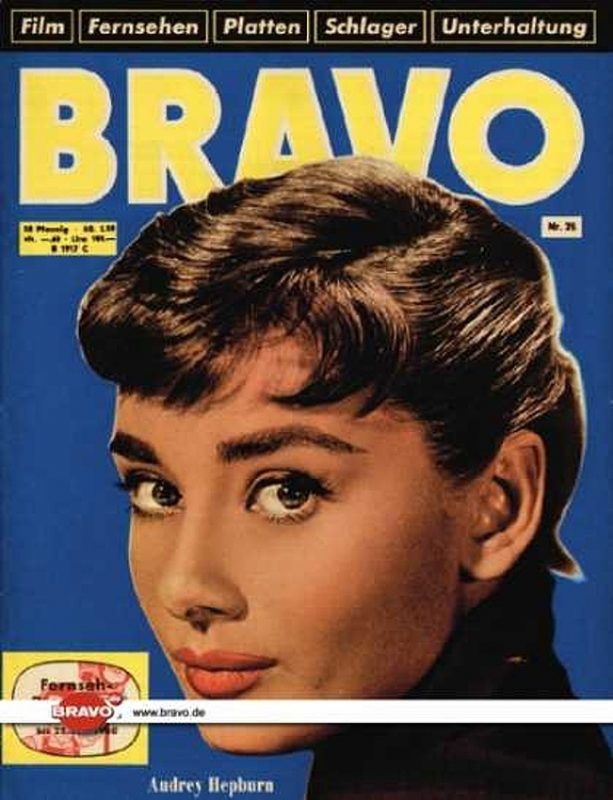 25 / 14.06.1960 / Audrey Hepburn