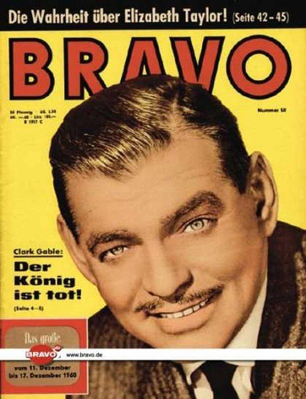 50 / 06.12.1960 / Clark Gable