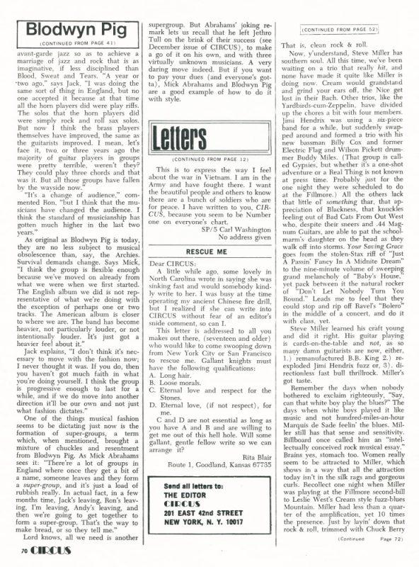 CIRCUS / 1970 #2